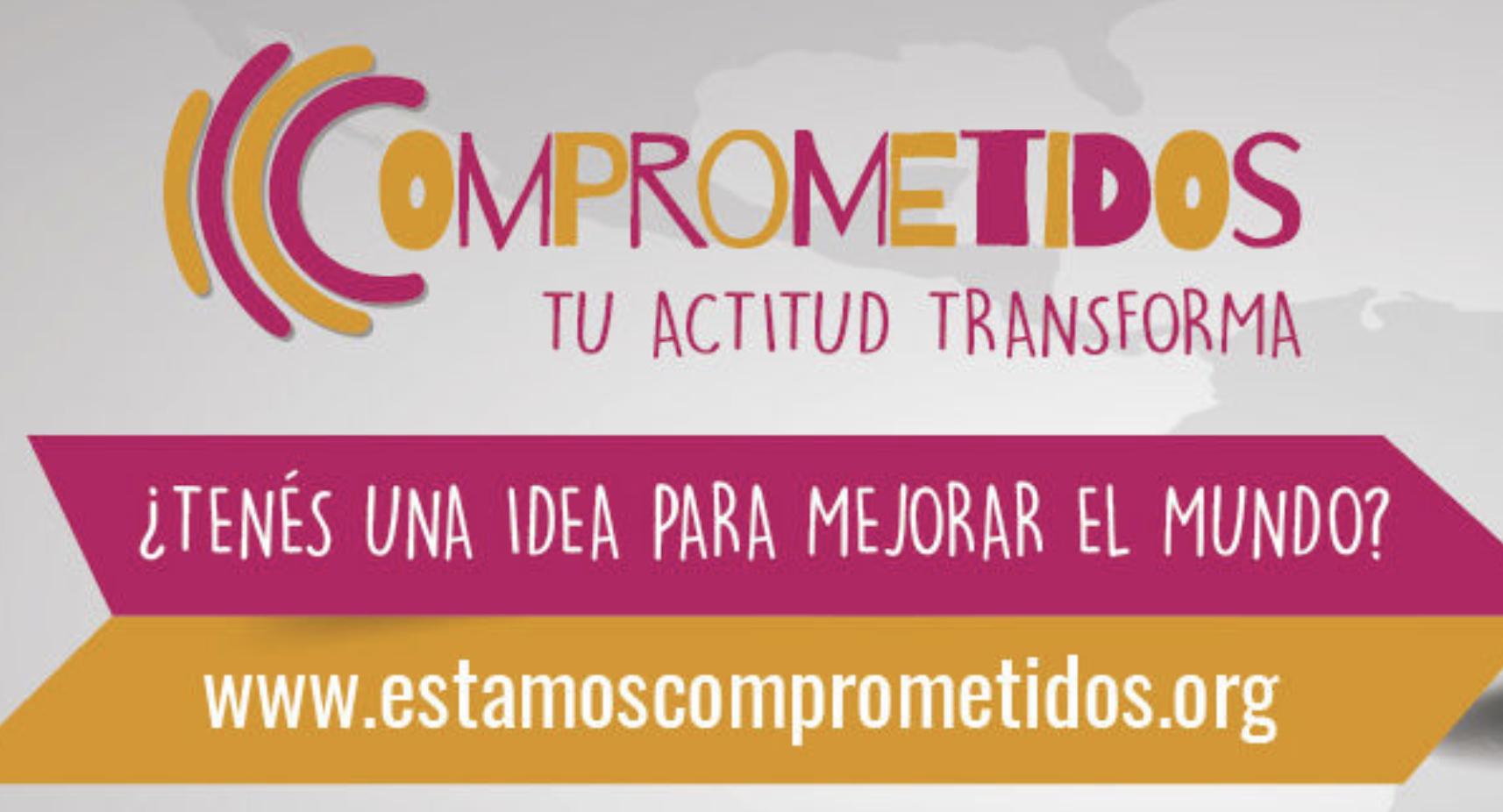 Estamos comprometidos: Concurso de ideas para cambiar el mundo -