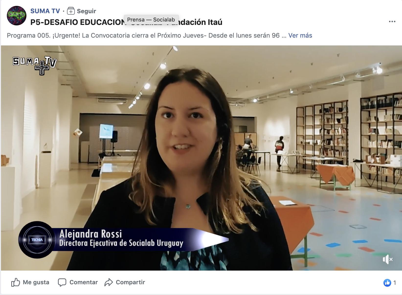 DESAFIO EDUCACIÓN-Socialab-Fundación Itaú -
