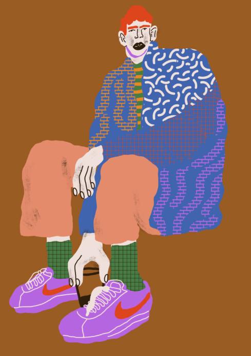King Krule by Marta Guinipero