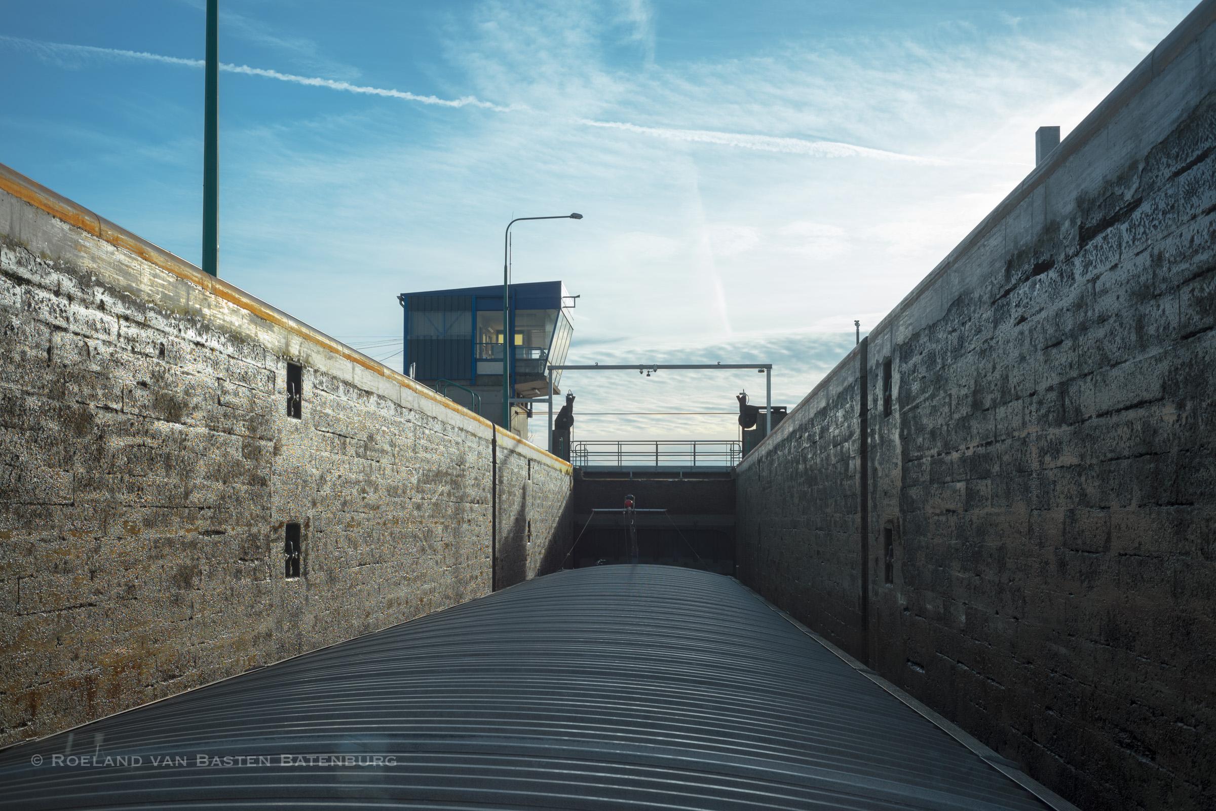 De laatste sluis op het Canal du Nord, Pont-L'Eveque
