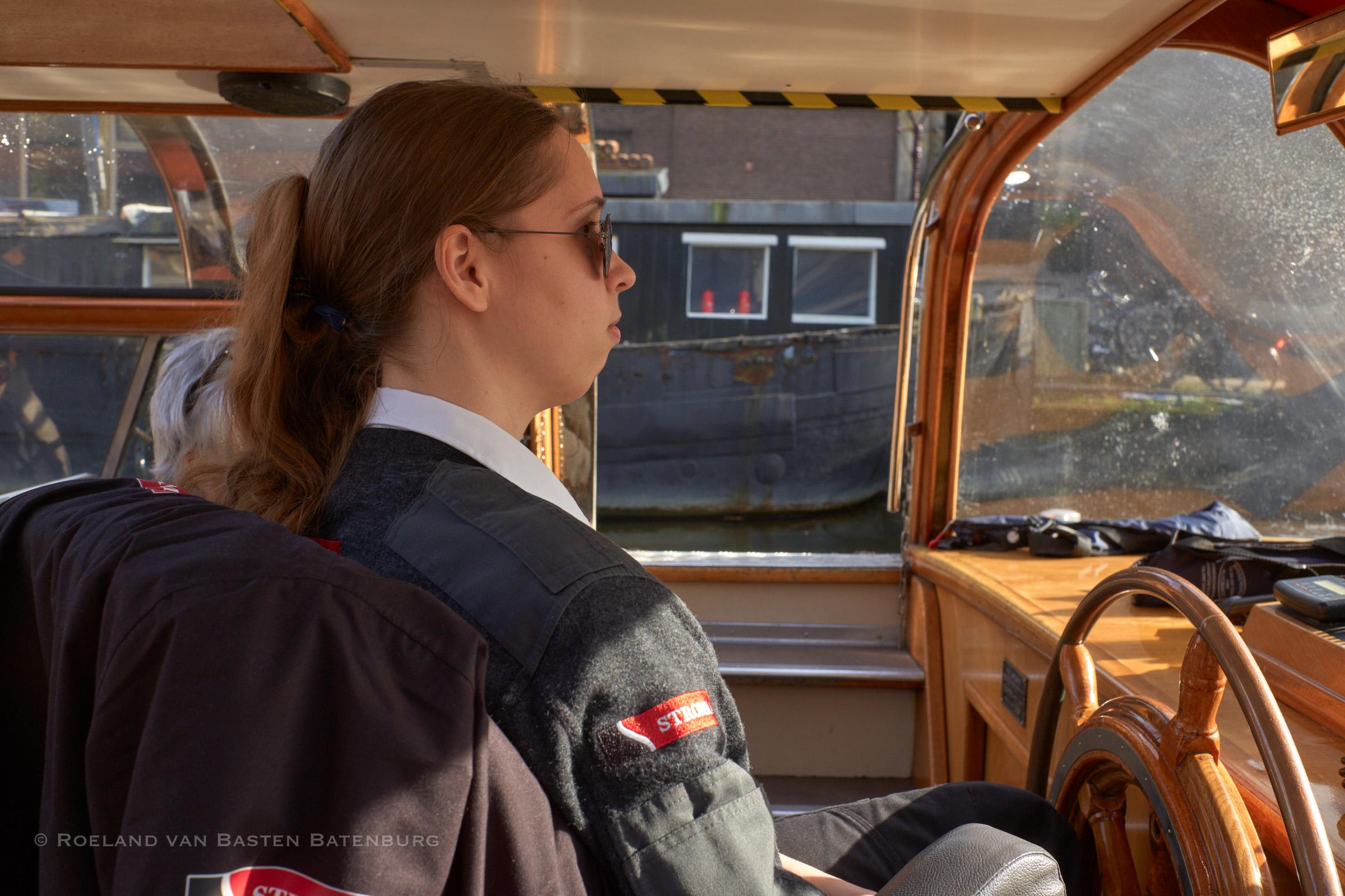 Kapitein-in-spé Nathalie