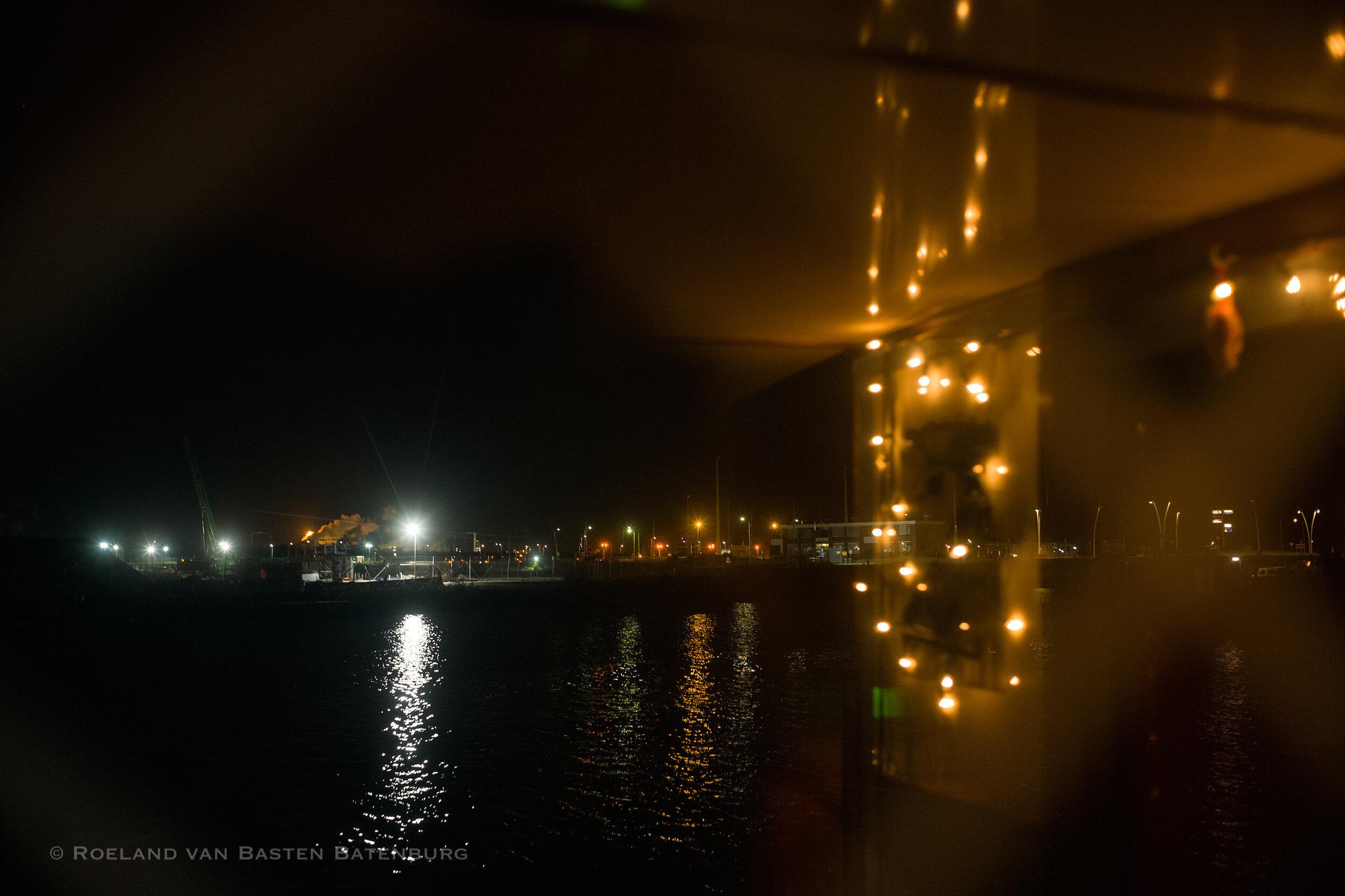 Ons uitzicht door het raam