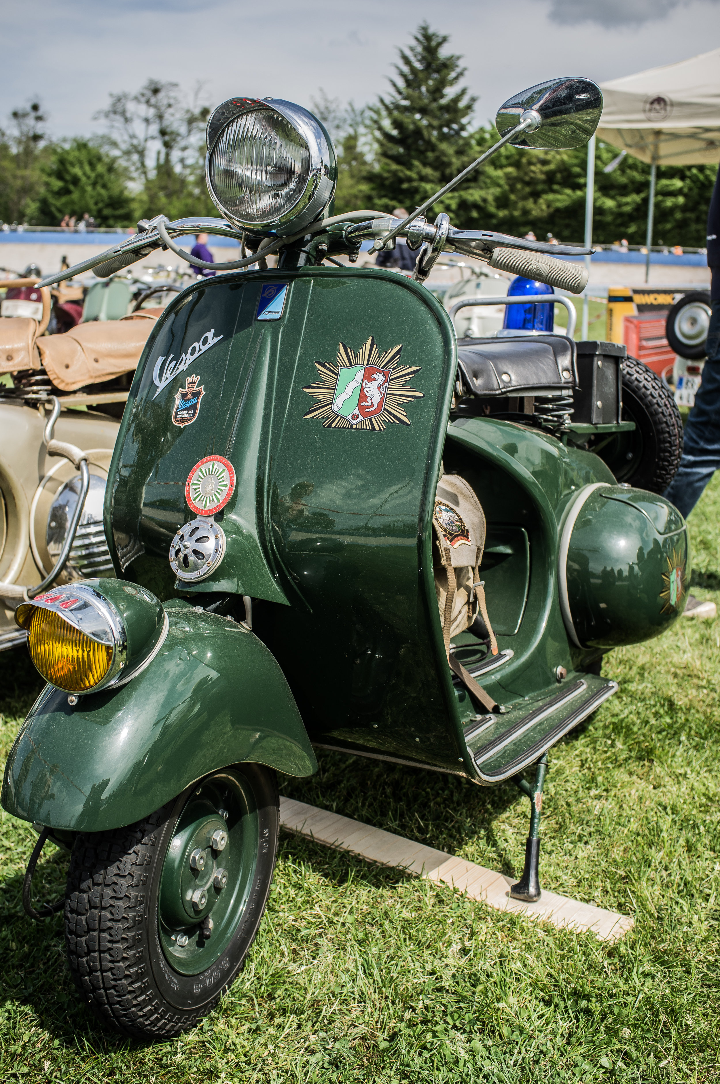 Photo by Ernie Troelf - restored German Police HC model