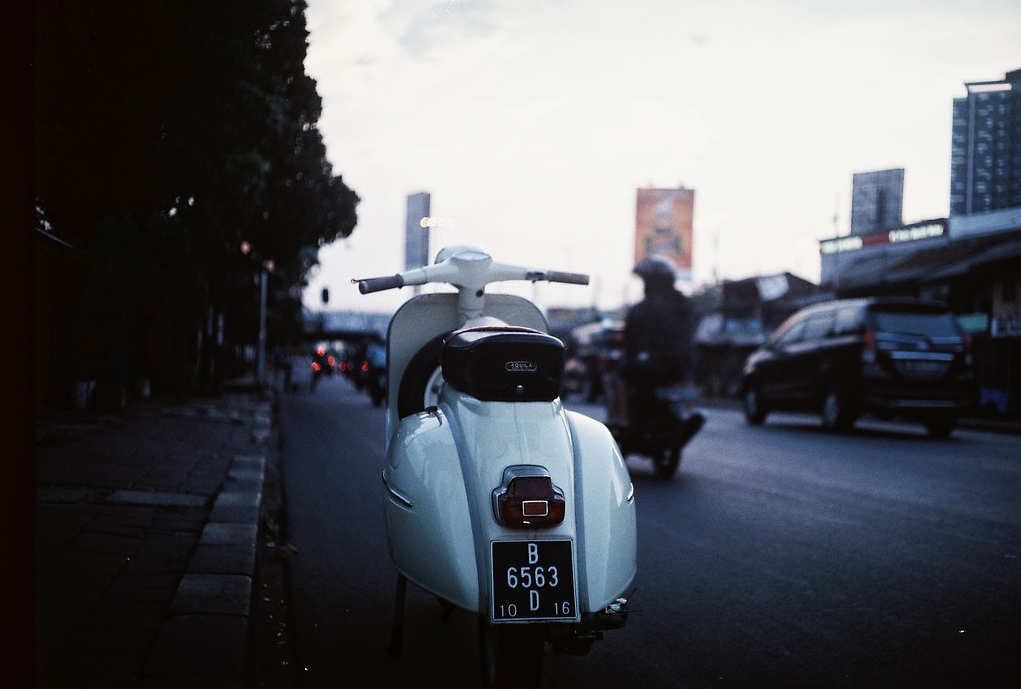 Vespa GL150 - Jakarta, Indonesia