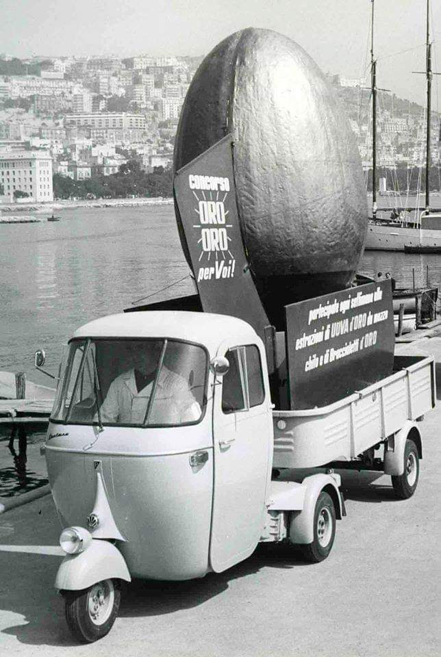 Ape Pentaro - could be Naples, Genoa possibly… ?