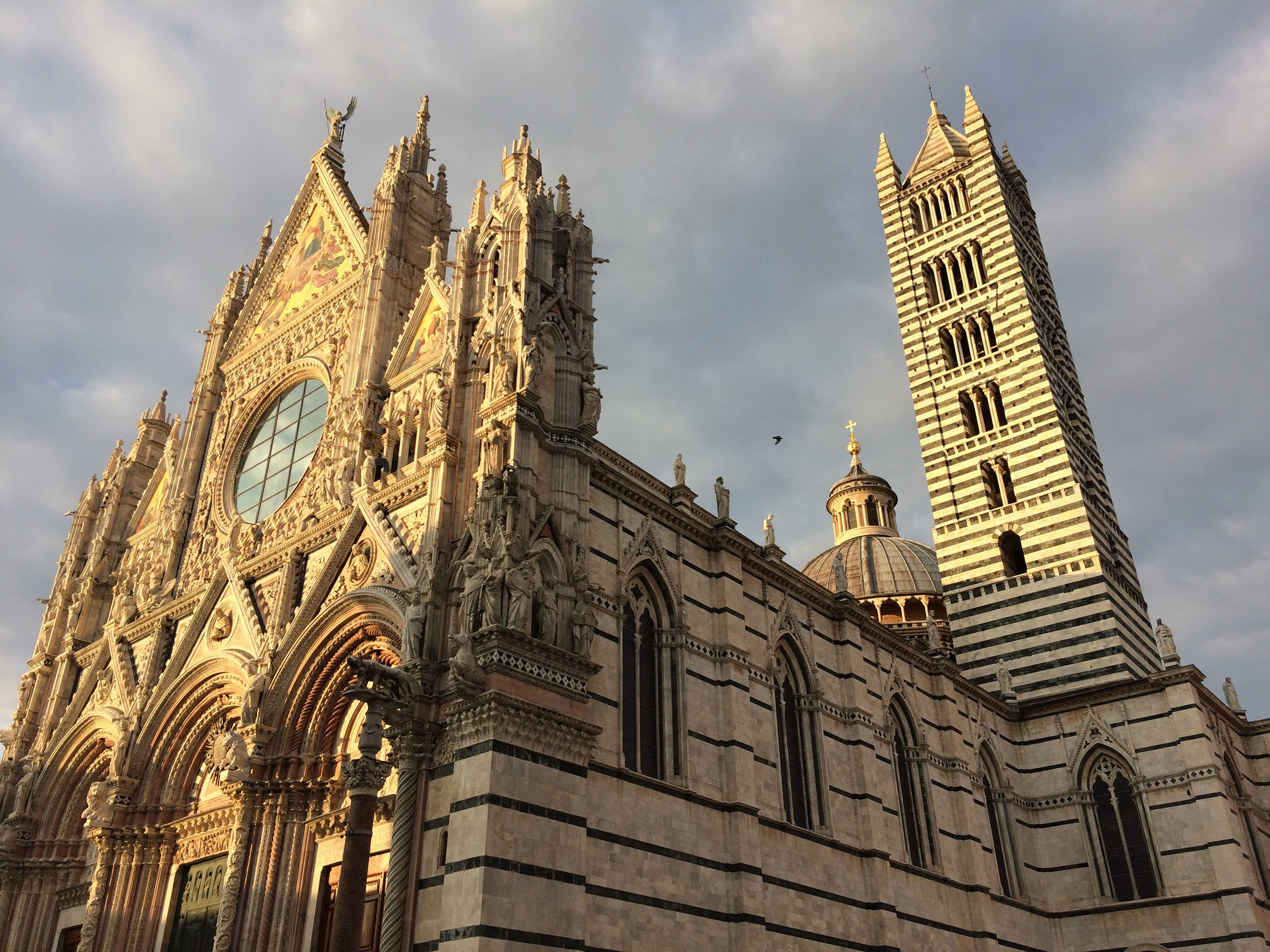 Siena Duomo - photo by Paul Hart, October 2018