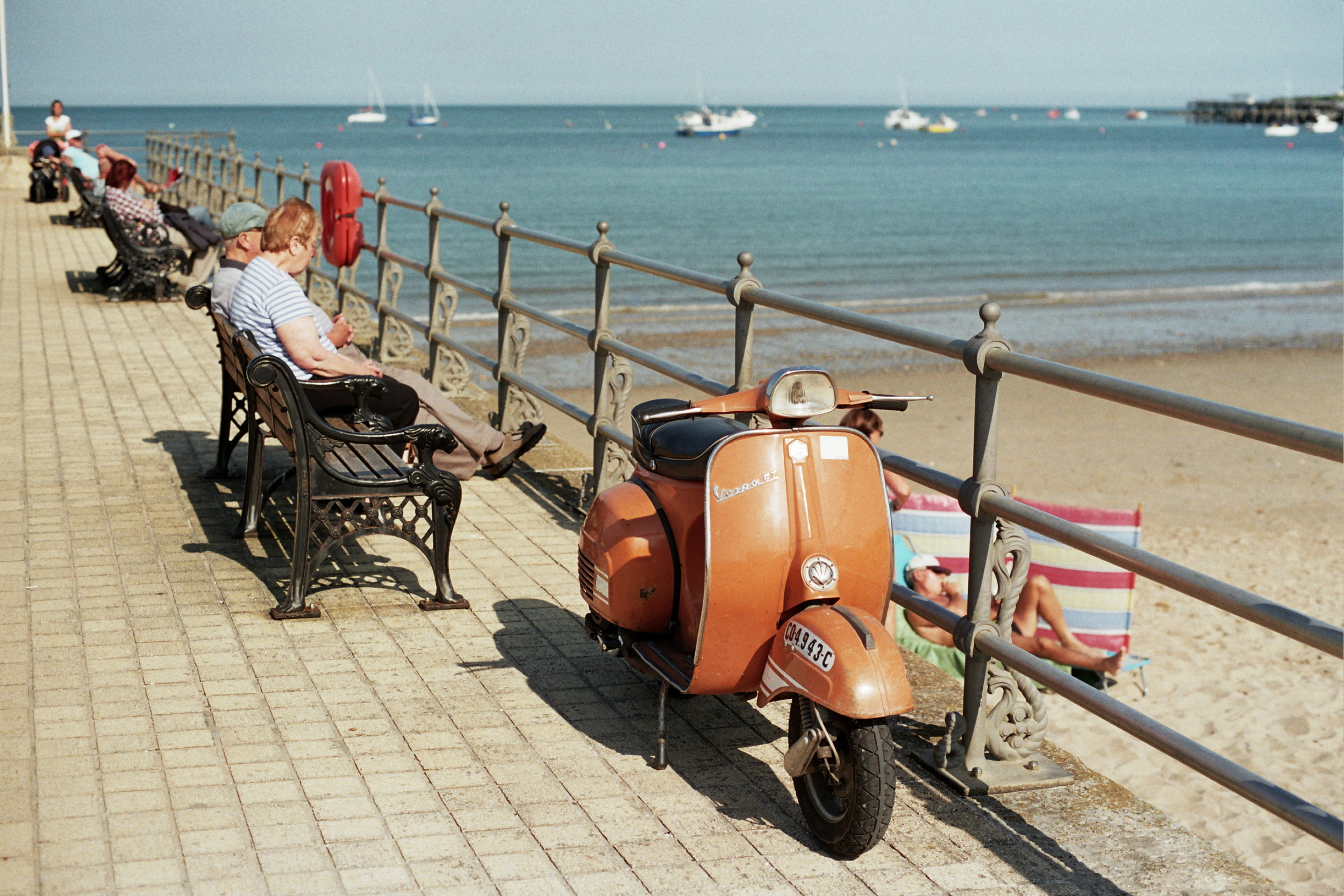 My Motovespa GT160 photographed during the VVC Swanage weekend in May 2014
