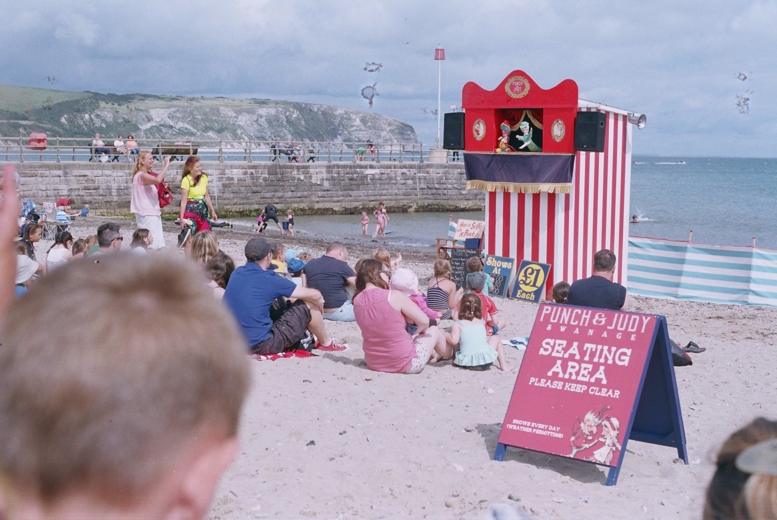 """""""That's the way to do it.."""" - traditional Punch & Judy still performed on Swanage beach"""