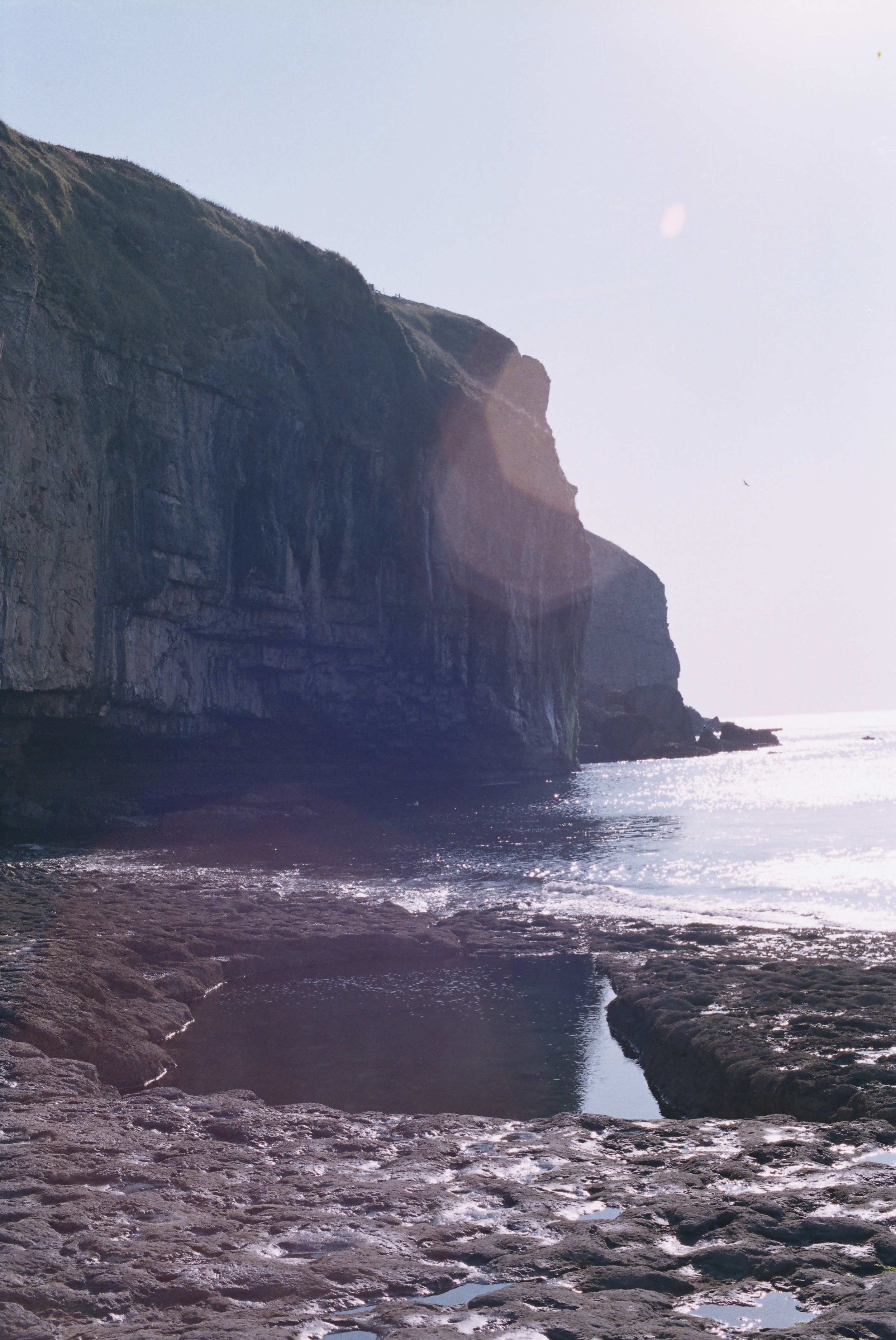 Now managed by the National Trust, the cliffs at Dancing Ledge were quarried a few centuries back. Boats would moor at the ledge, unload the horses and carts before blasting the rock cliffs for stone which was used locally and transported to places like London to pave its posh squares…