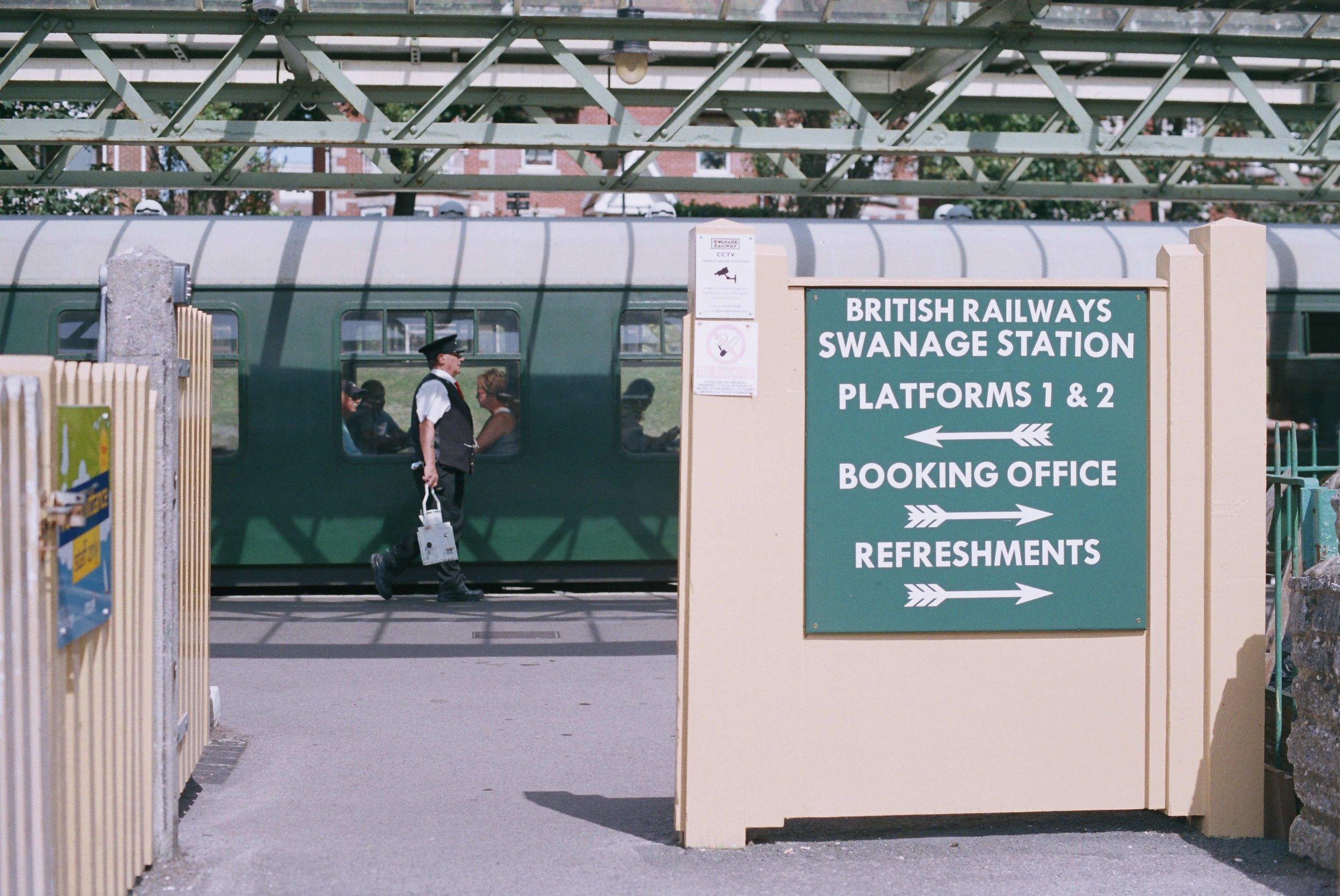 Swanage station
