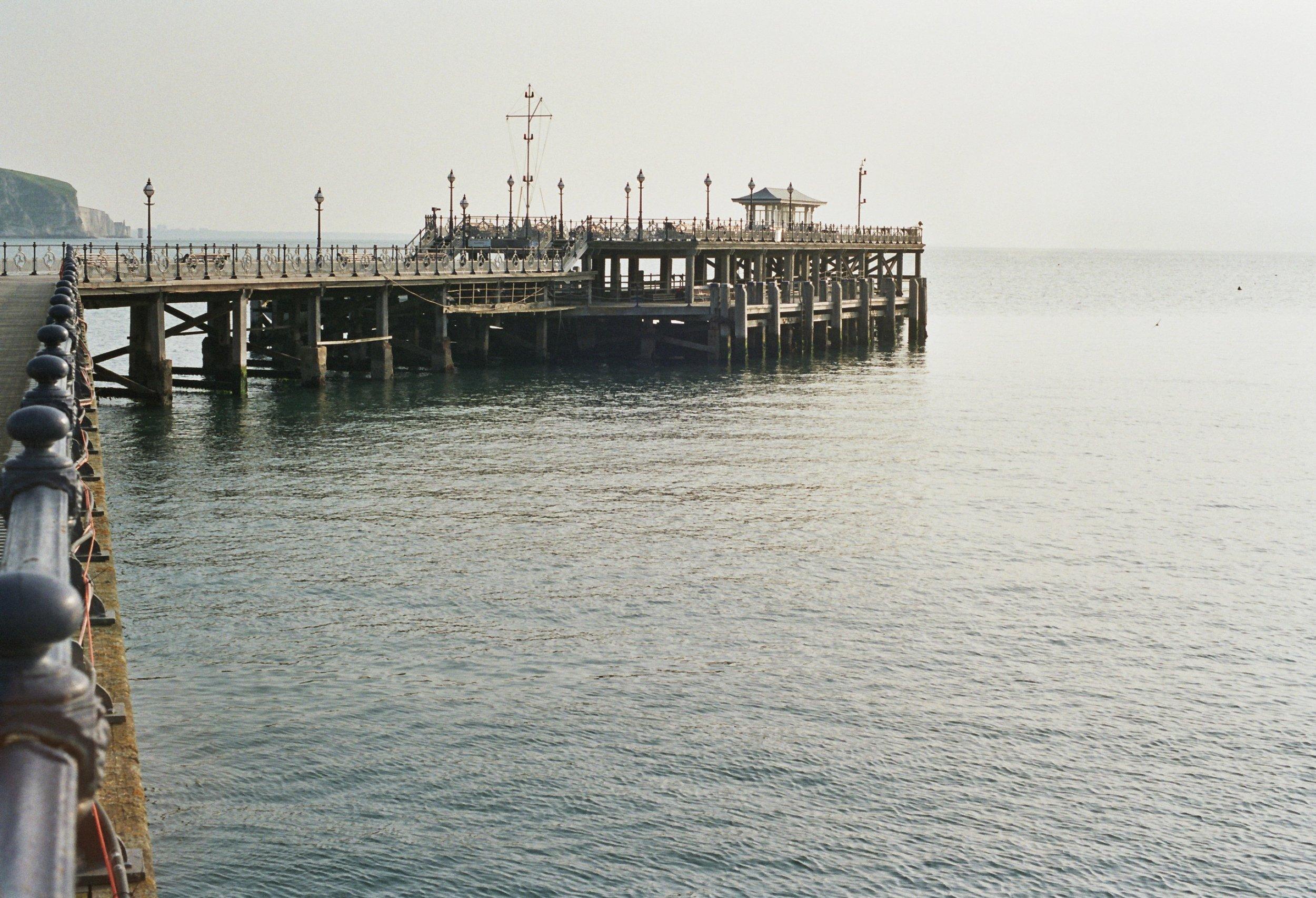 Restored Victorian pier