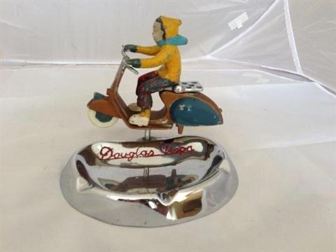 A rare Douglas Vespa ashtray