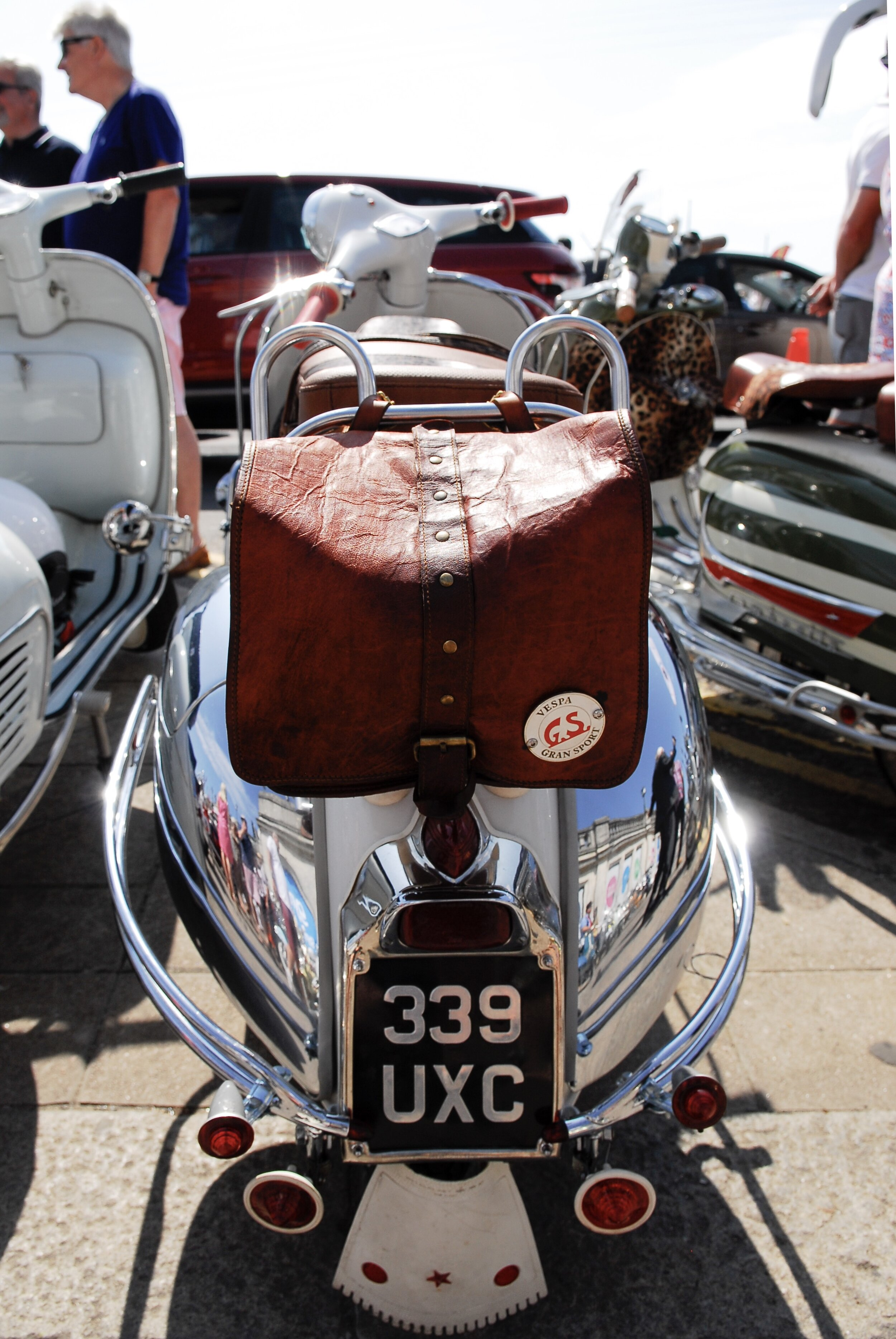 …and rear of another VVC's member's GS150 - this one belonging to Gary Lining..