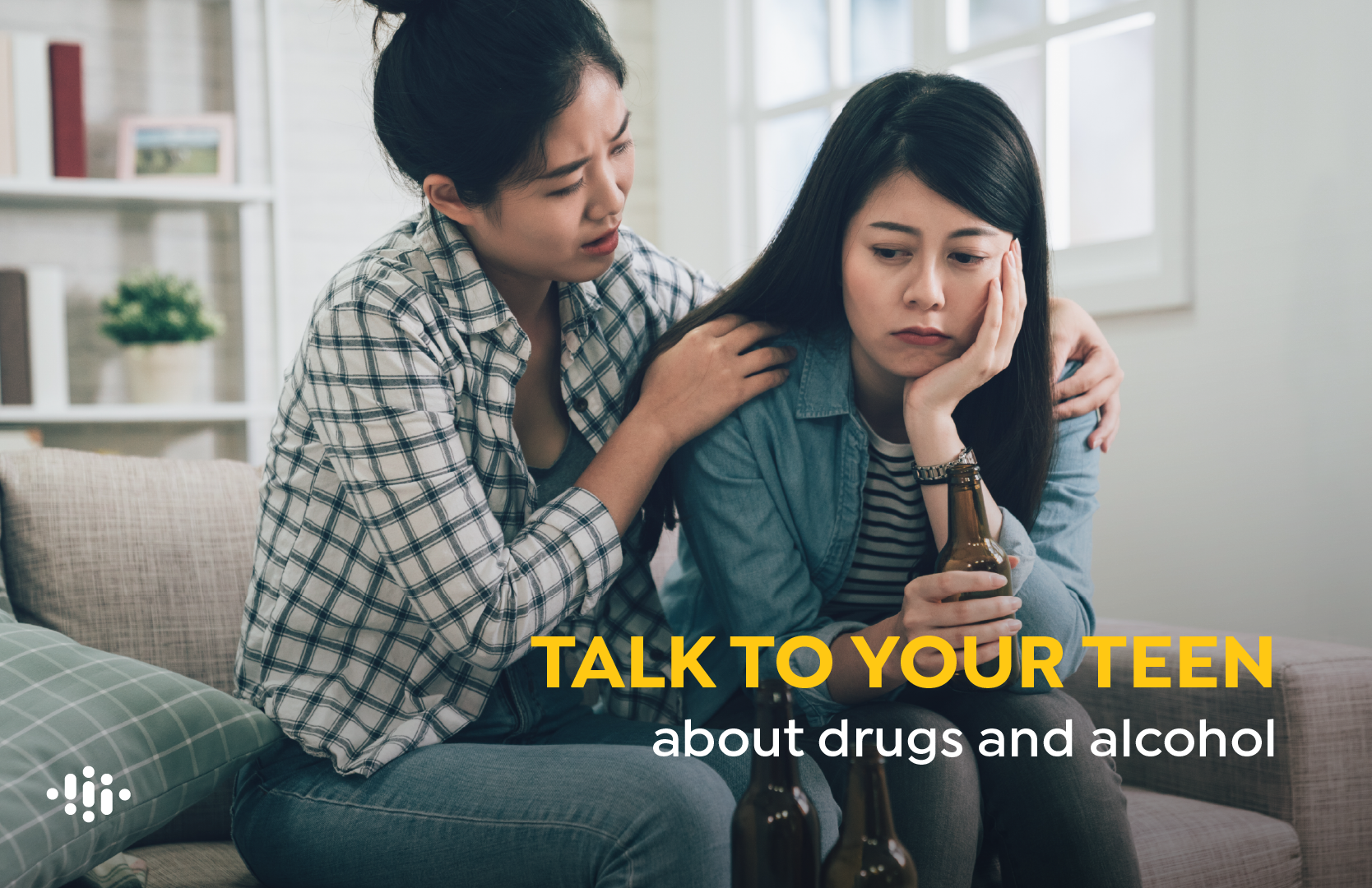 Main image for blog titled How to Talk to Your Teen about Drug and Alcohol Use
