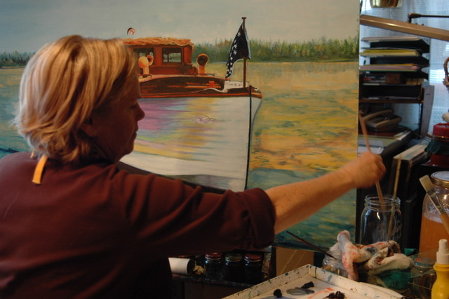 Diana Grenier Oil Painting - Dates: February 26 and March 5, 2019Time: 1:00 p.m. - 4:00 p.m.Cost: $25.00 per classLearn to paint with oils from renowned local artist Diana Grenier. The subject matter is Sky, Water and Trees. Please bring some photos. They can be in print or on an ipad. This class started Tuesday February 5th, and will take place every Tuesday until March 5th, from 1-4pm. All materials including a 9 x 12 canvas are included. The cost is $25 for each remaining 2 classes. Beginners are welcome! Registration is required. You may register on-line at: https://form.jotform.com/82616585900158 or call the Hessel School House at 906-484-1333.