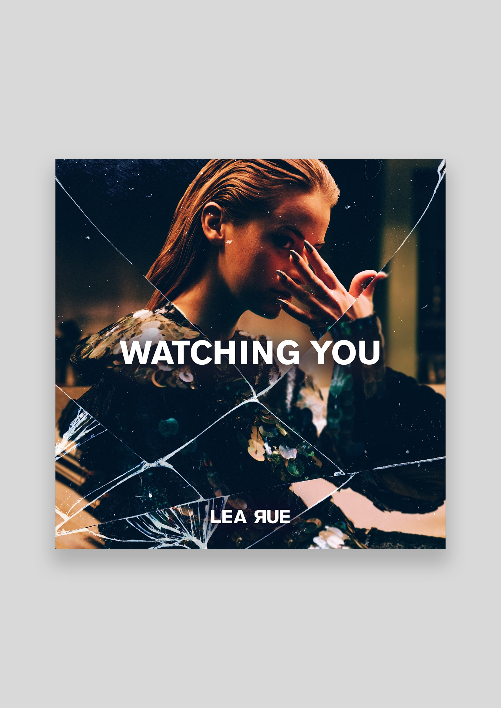 Concept and design for the cover Artwork of Lea Rue's single 'Watching you'