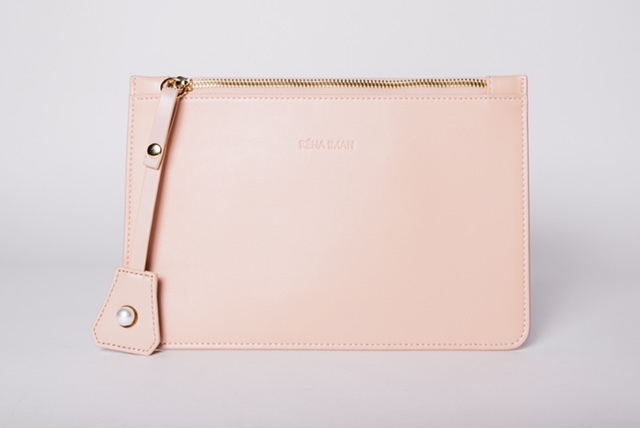 Shop Our Best Sellers - Blush Laura Clutch $125
