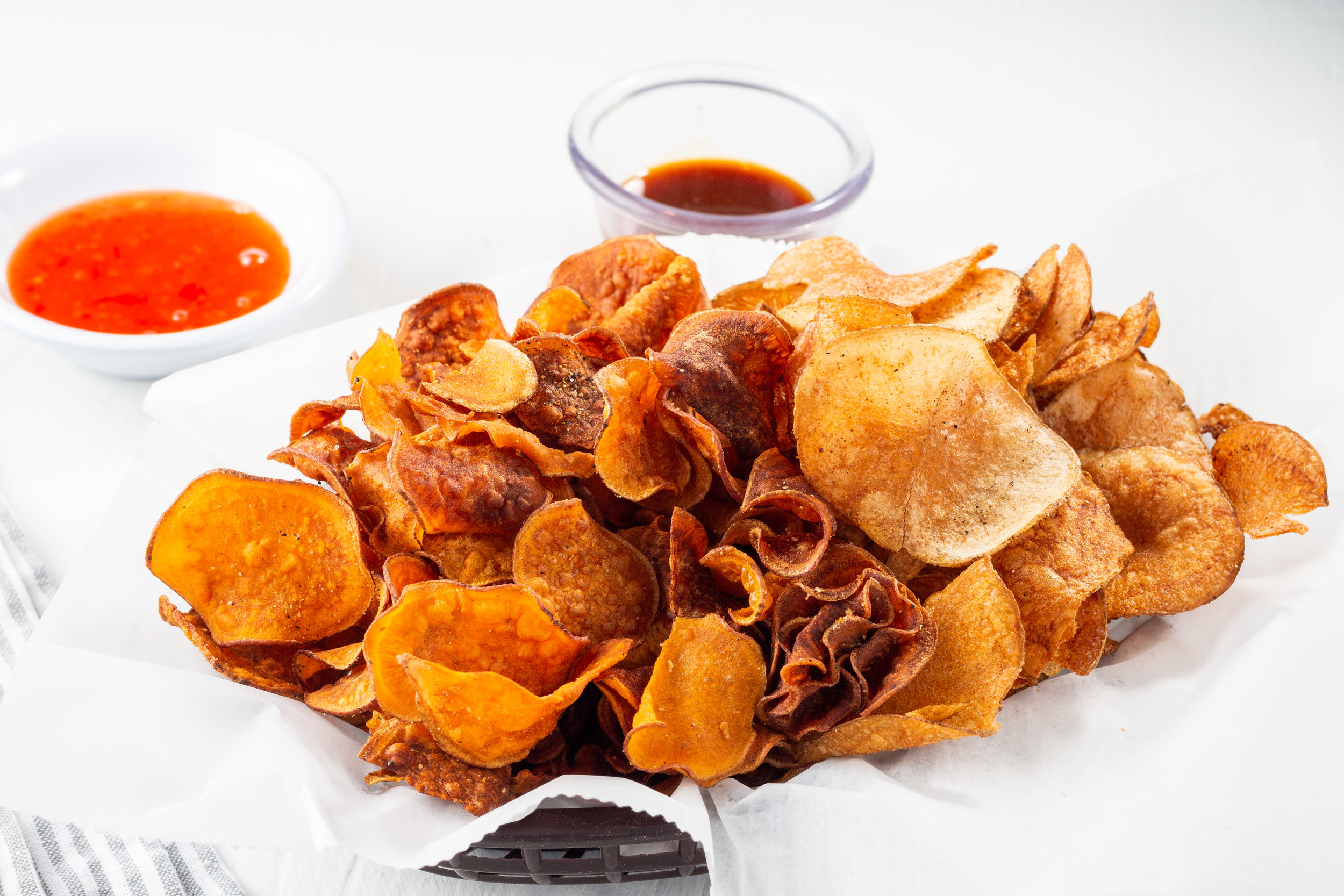 CHA CHA CHIPS - with Lava Mustard & Sweet Chili