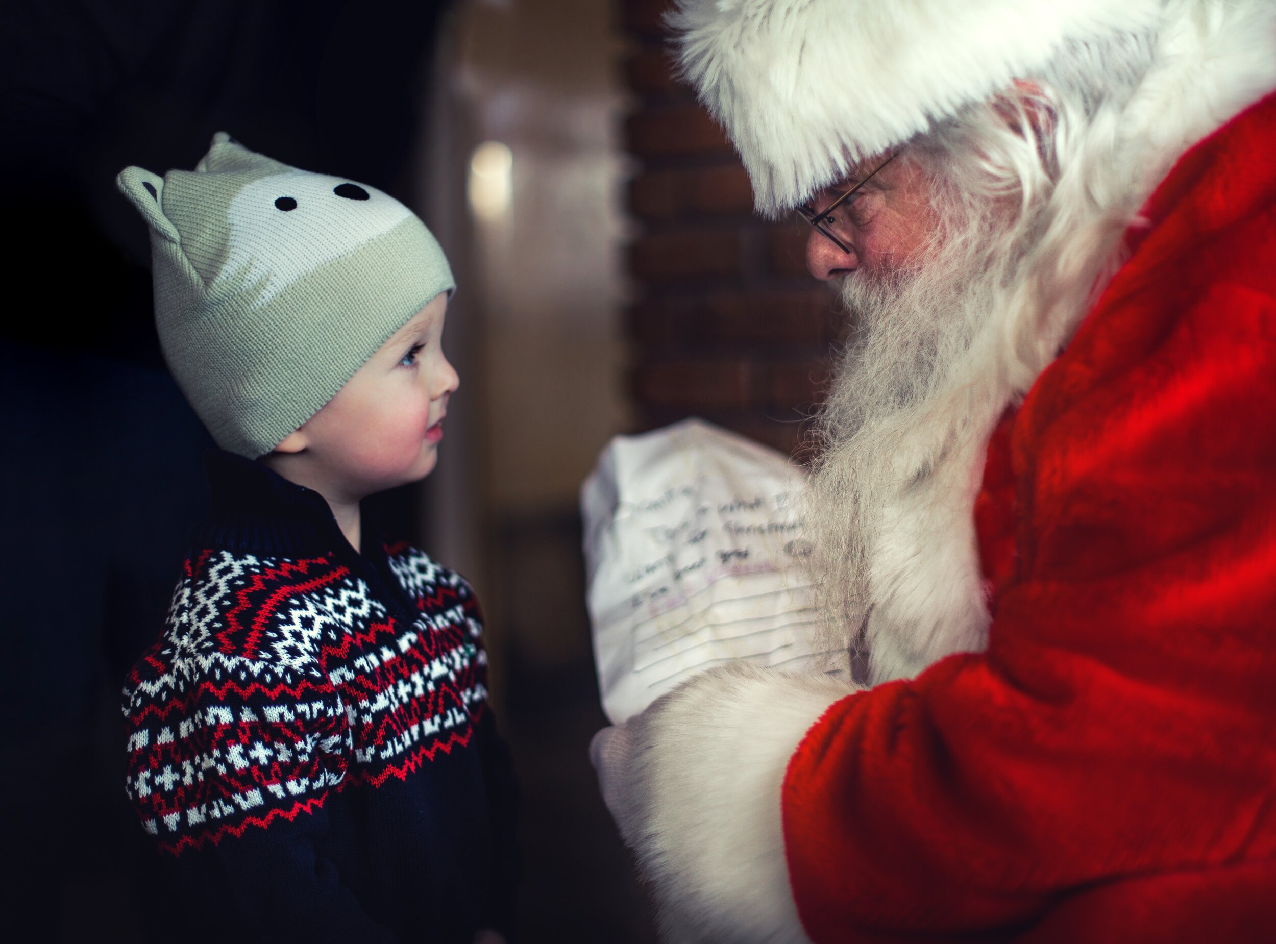Free Photos with Santa! - Perfect for Christmas cards!
