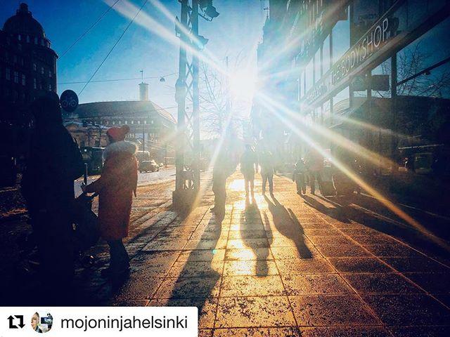 #Repost @mojoninjahelsinki with @get_repost ・・・ I #love you #saturday and #sun #mobilephotography #shotoniphone #helsinki #finland