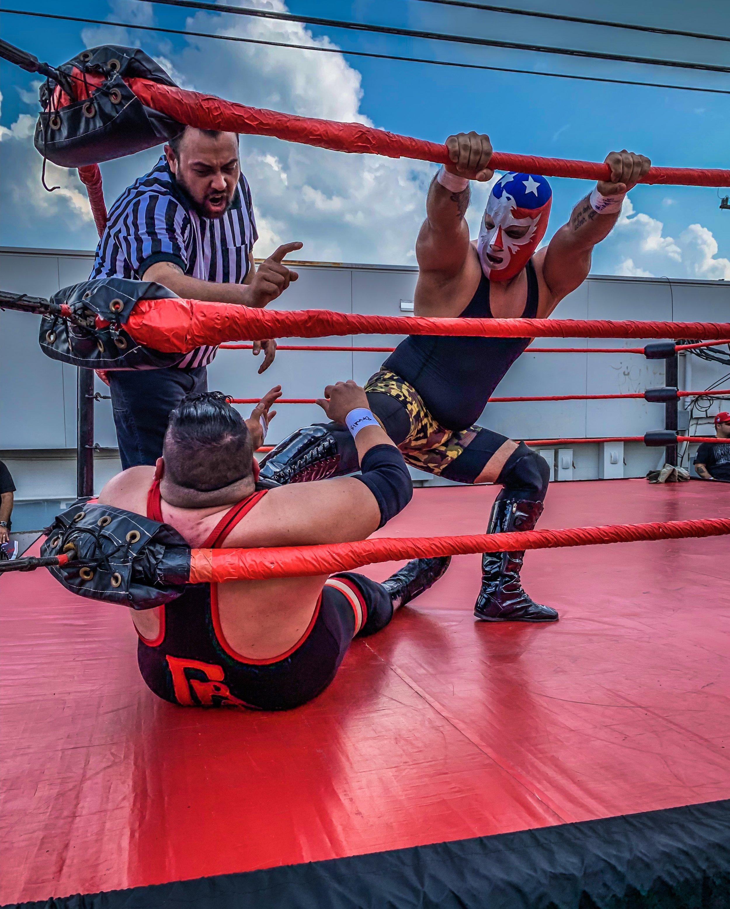 Lucha Libre Pin by Leigh Darilek