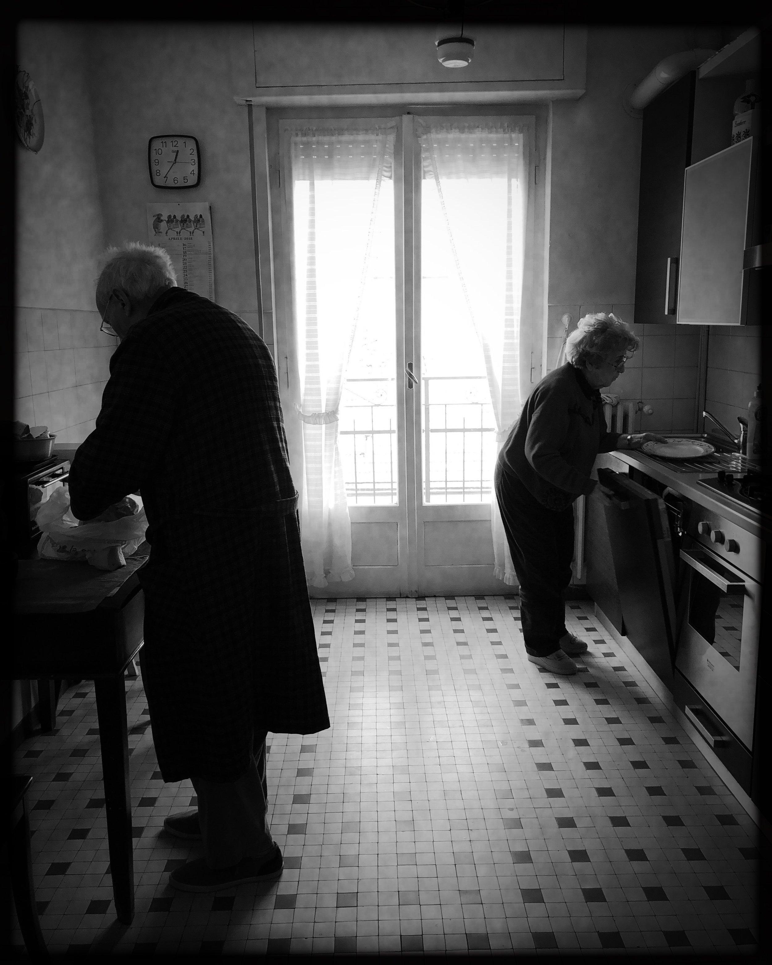 Mom and Dad by Valeria Cammareri