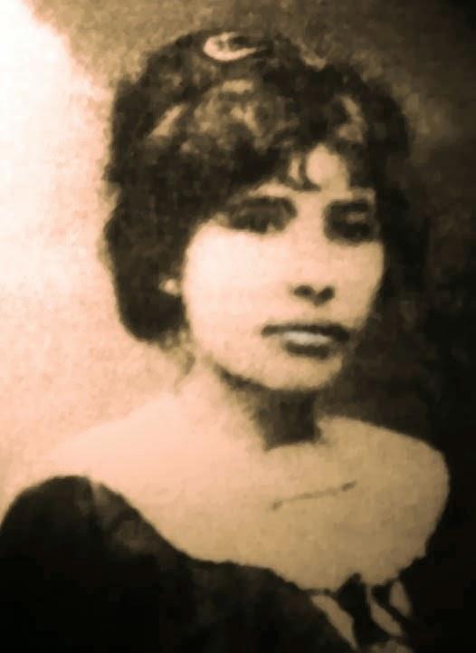 Celina Guimarães em 1912