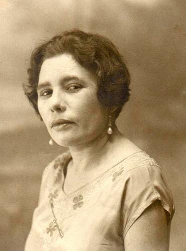 Celina Guimarães em 1950