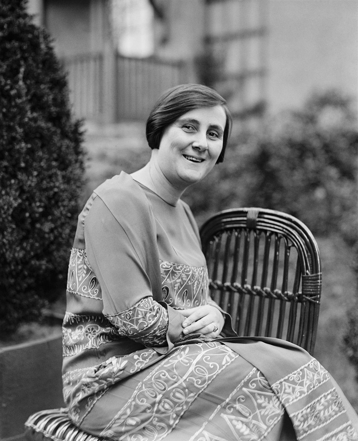 Bertha Lutz em 1925