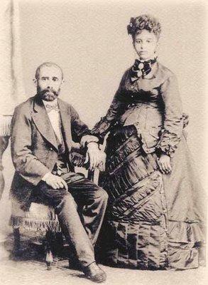 Eloy e Henriqueta, pais de Auta de Souza.