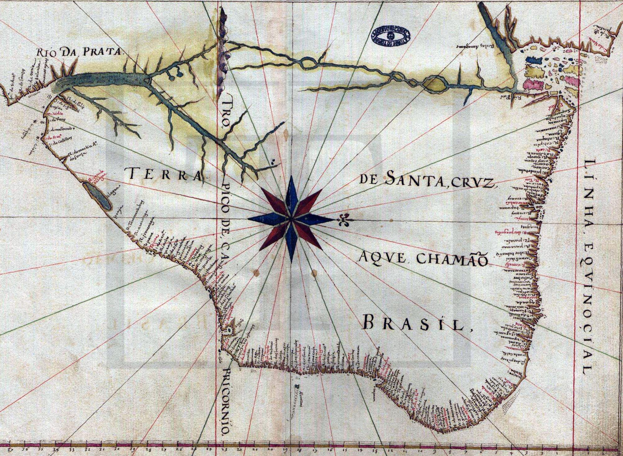 Atlas de Albernaz, de 1640.