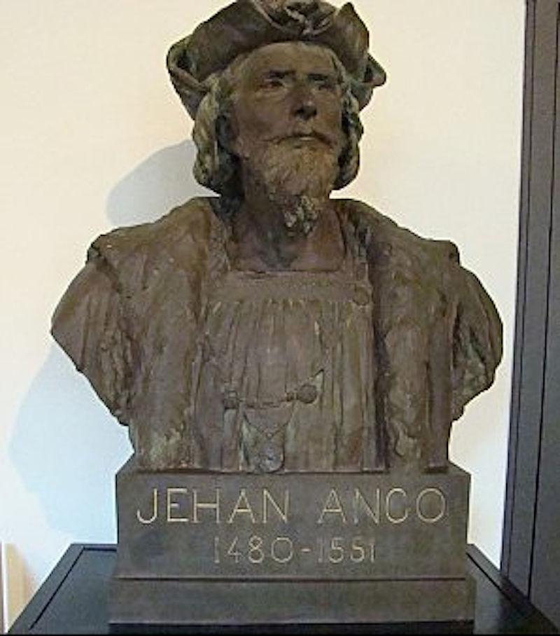 Escultura de Jeah Angot, feita por Eugène Benét