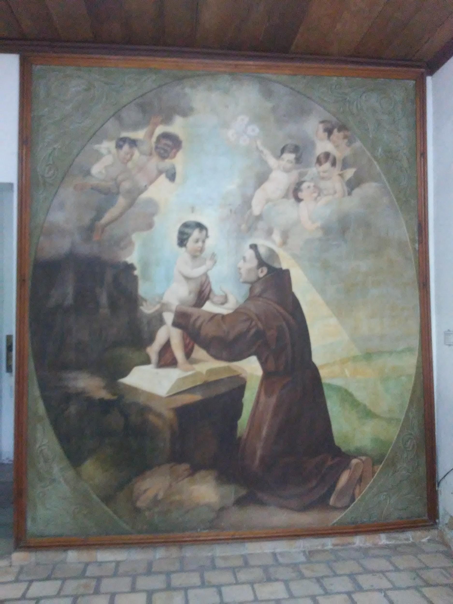 Retábulo de Santo Antônio - óleo sobre tela - século XX