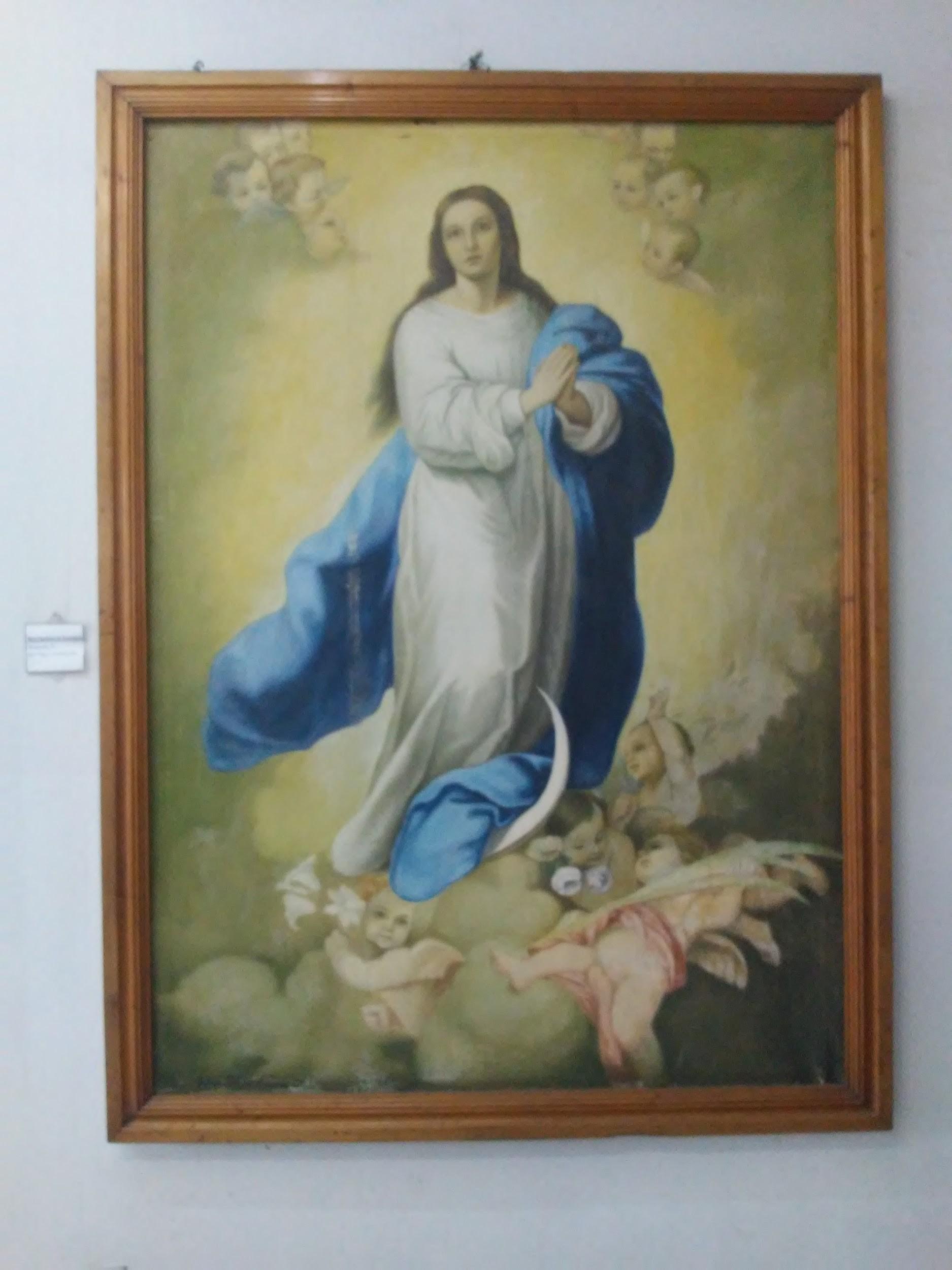 Nossa Senhora da Conceição - óleo sobre tela - século XX.