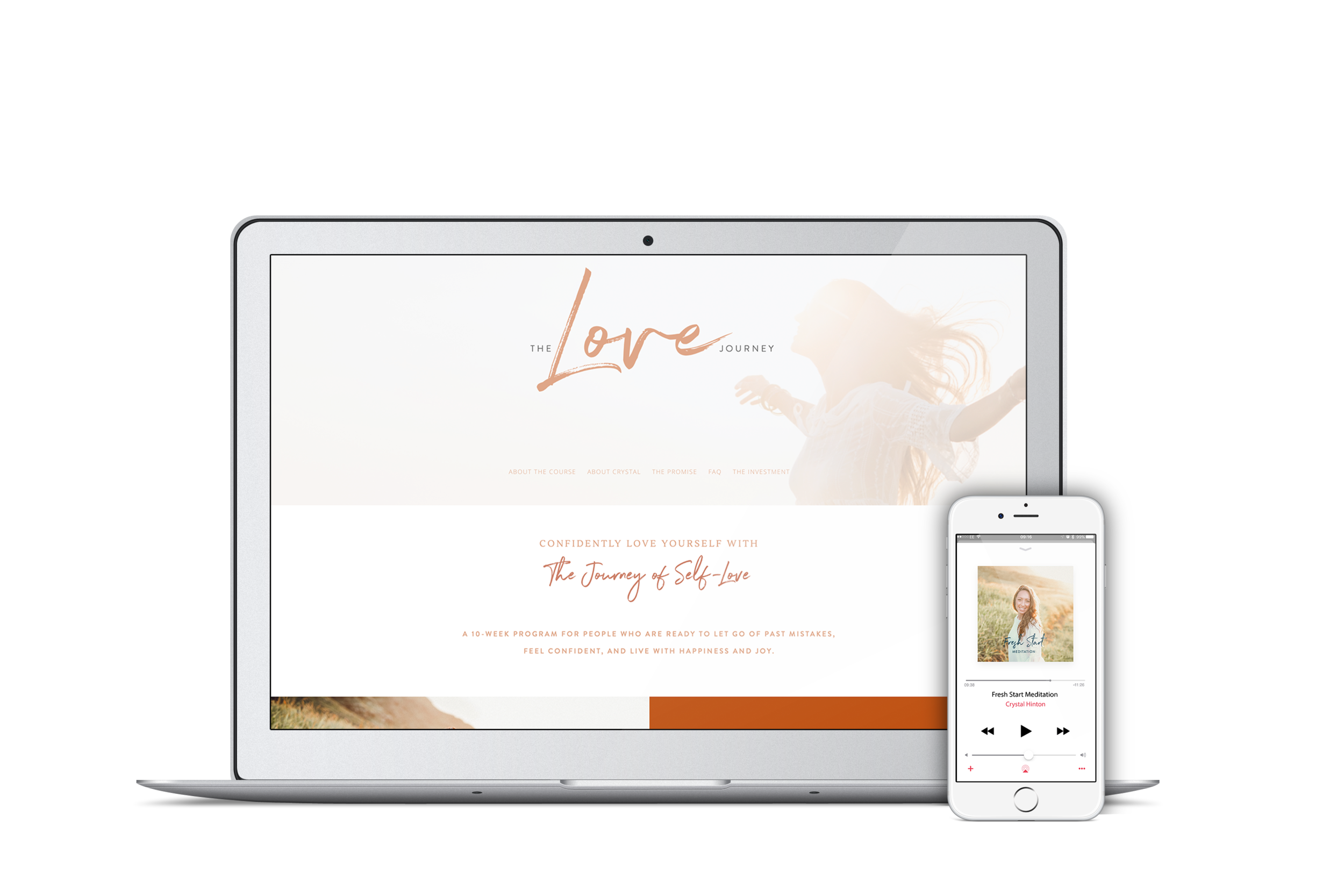 self love course self-love program energy healing ThetaHealing Crystal Hinton