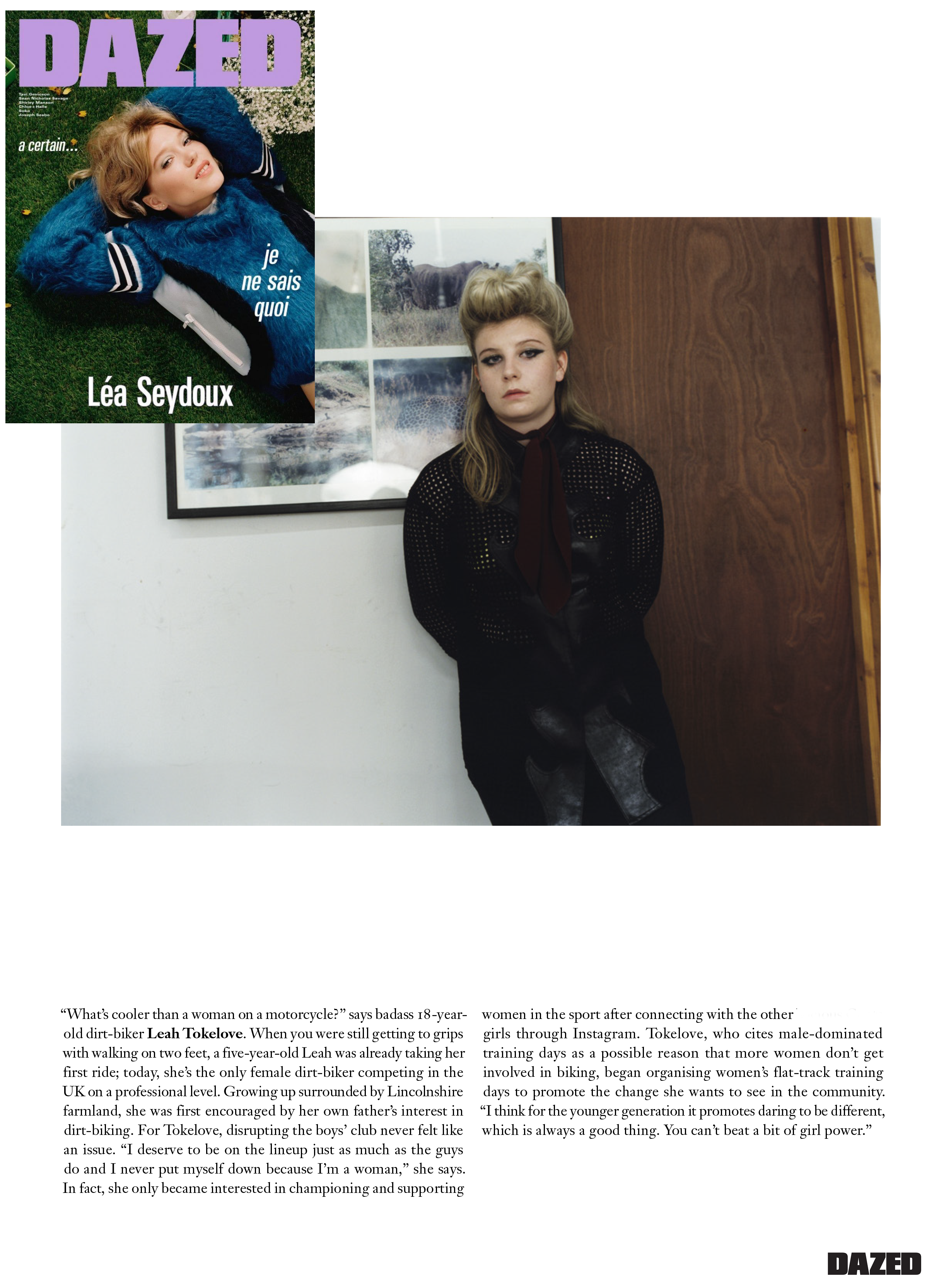 Leah Tokelove for Dazed and Confused magazine .png