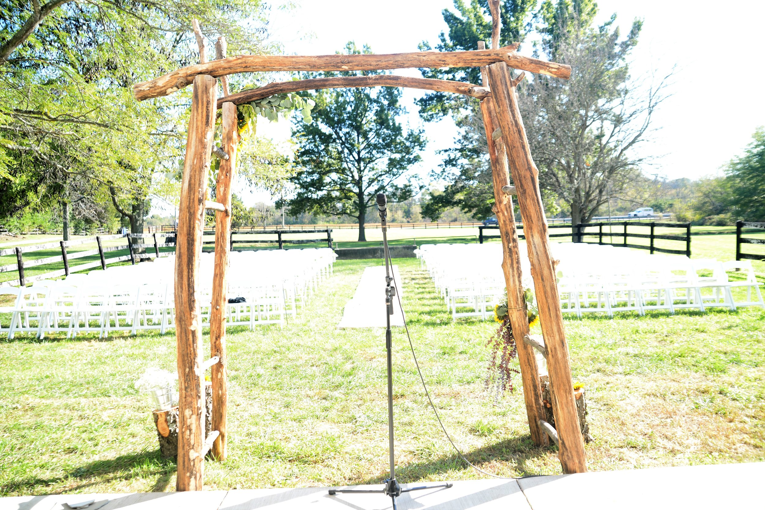 Multiple Ceremony Spaces - The Paddock