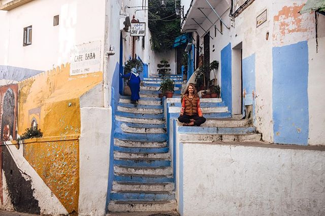 Steps of Tangier.