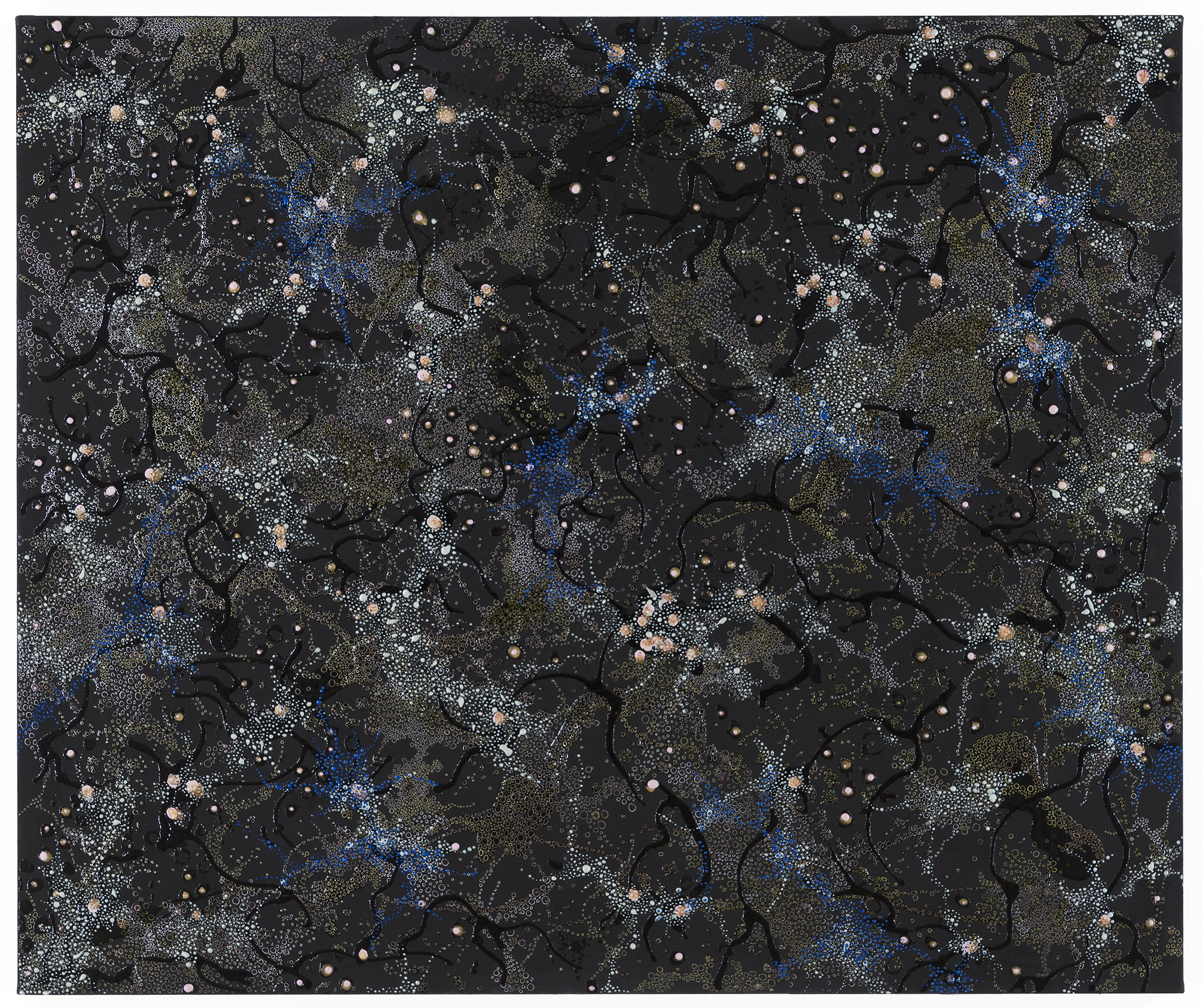 50x42 Cosmic Concourse by Artist Elizabeth Knowles