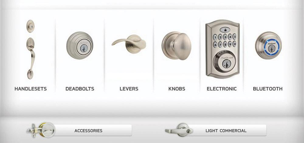 FIGURE 1: Kwikset manufactures hundreds of thousands of handlesets, locksets, and other home security hardware every year. Photo courtesy of Kwikset.