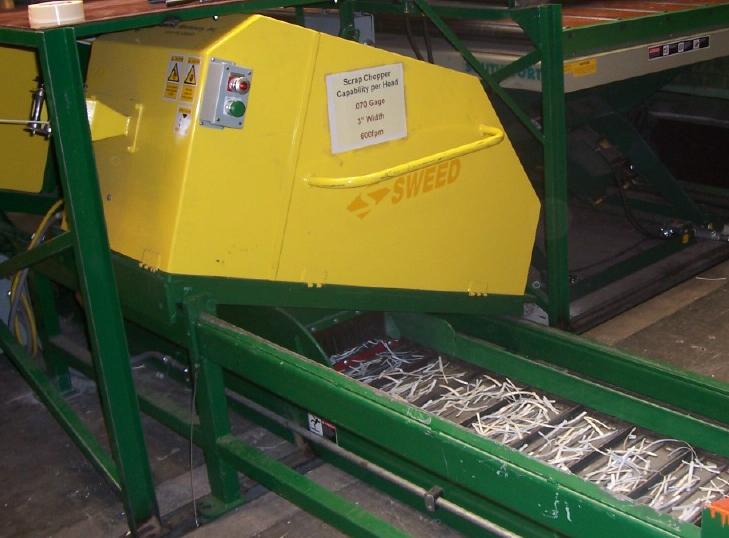 Sweed Slitter Line Scrap Chopper installed at Precoat Metals