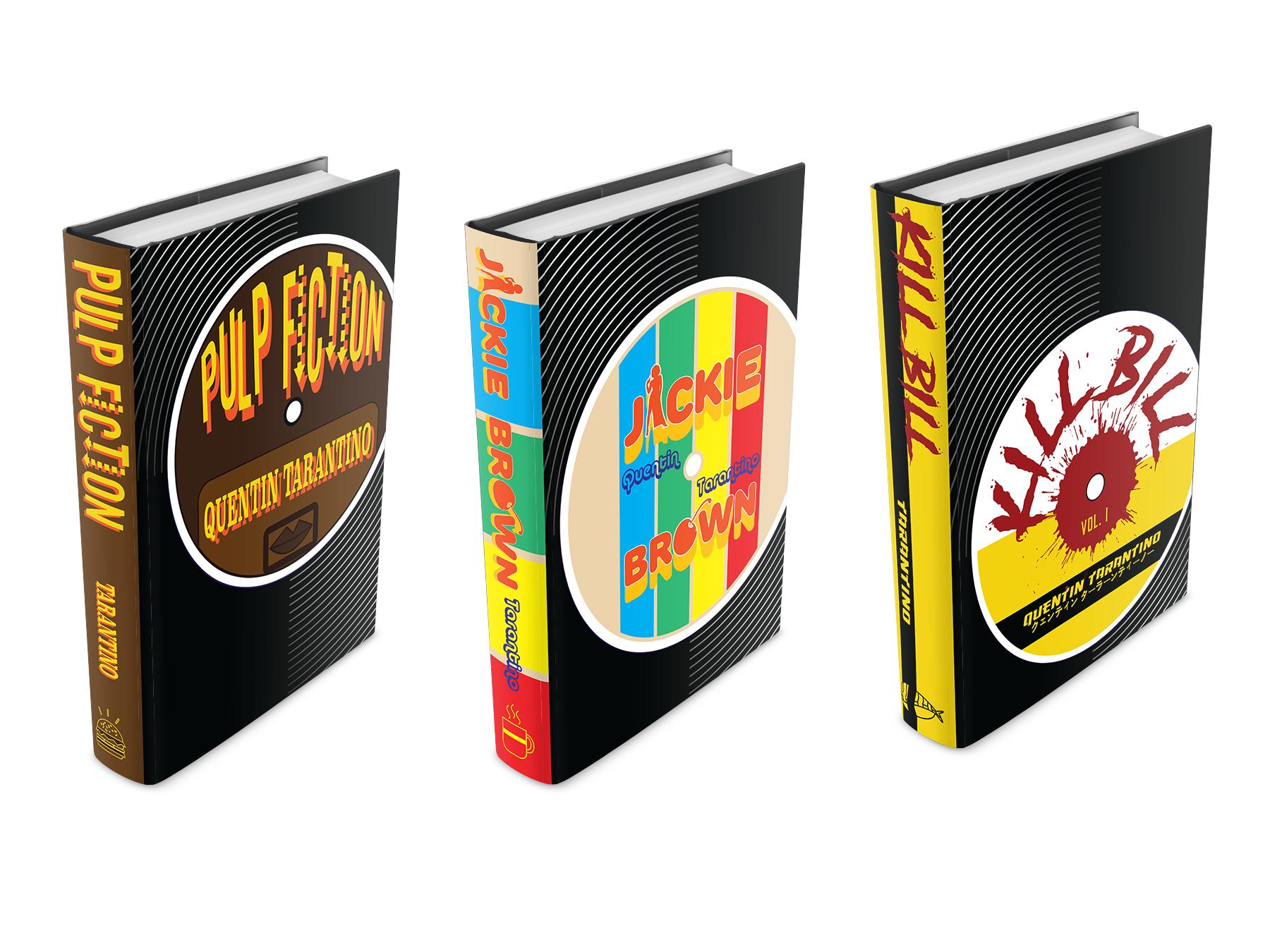 Ben Buttles, Tarantino Bookjacket Series