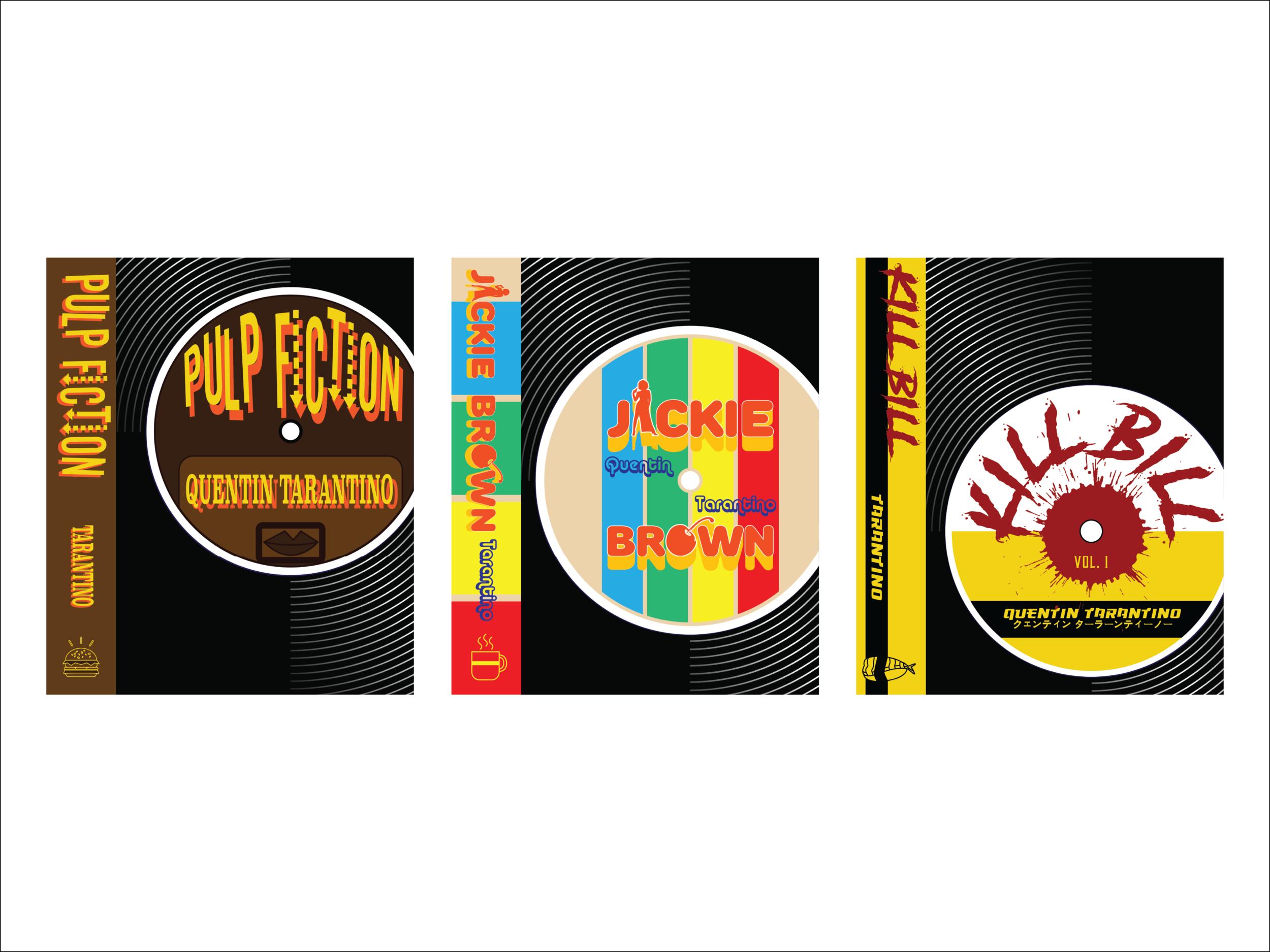 Tarantino–Bookjacket Series