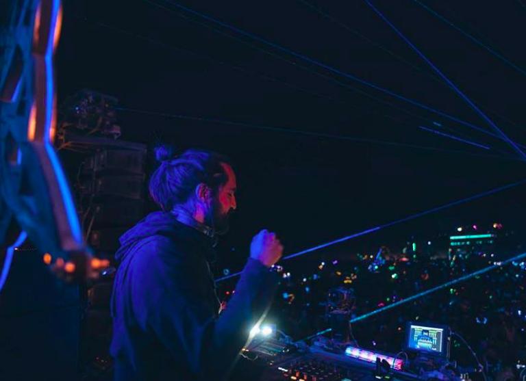DJ, event producer, Mayan Warrior resident