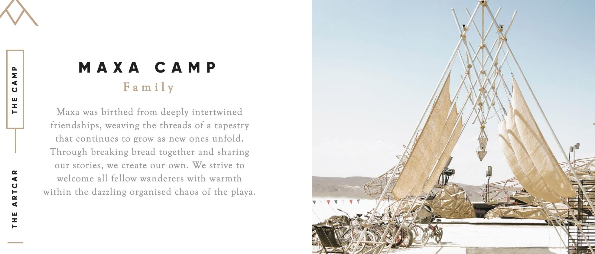 Maxa Camp Website Copy