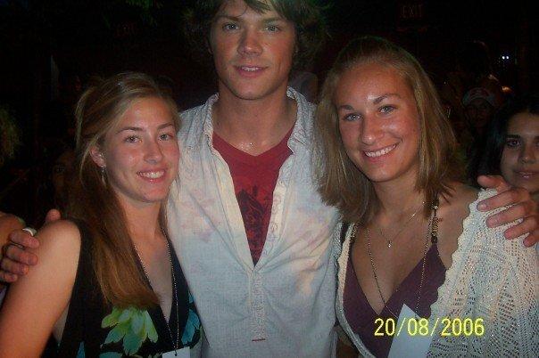 Sara, Jared Padalecki, and Abbey at the Teen Choice Awards, 2006