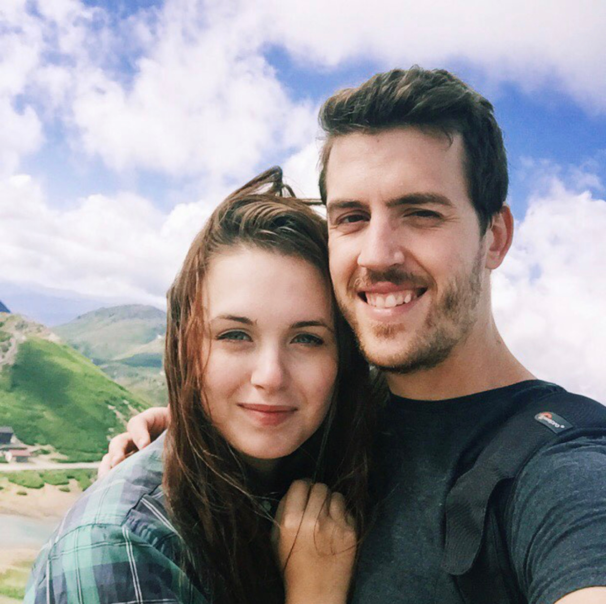 Laura and Luke in the Japanese Alps, 2016