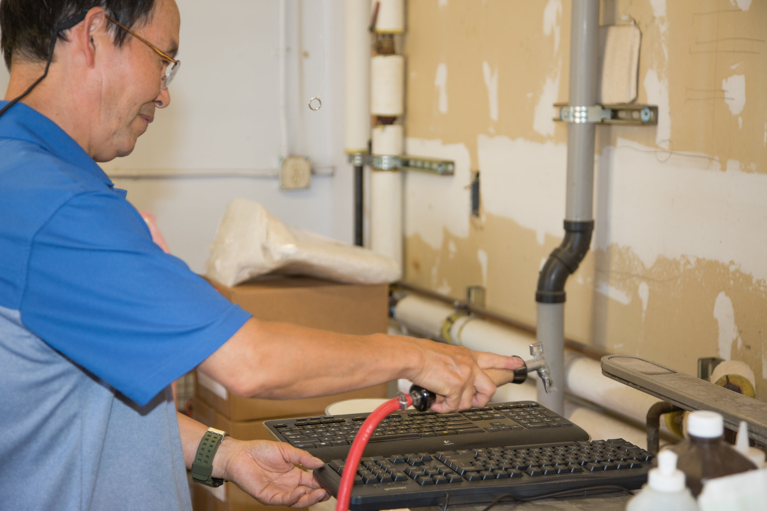 DLS provides high quality   Textile and Electronics Restoration Solutions    Let Us Help You