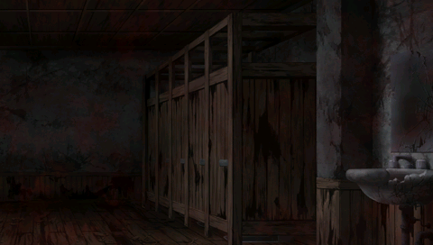 Screenshot from  Corpse Party: Book of Shadows .  Game created by Team GrisGris.