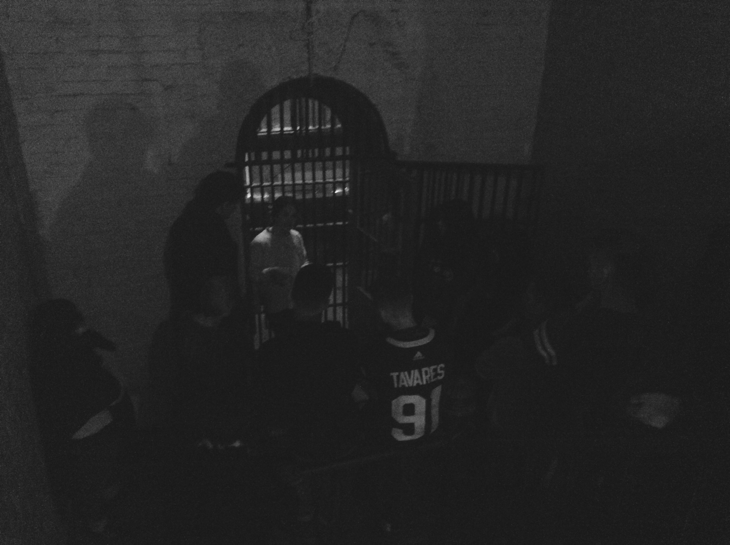 Looking down at the Gallows from Death Row